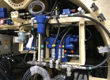 油圧配管工事